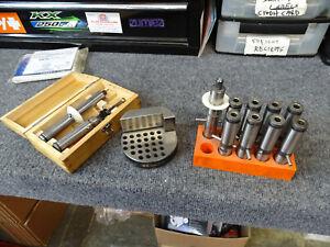 System 3R Measuring Set & Pallet and 9 EDM Electrode Holders