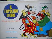 Il Topolino D'Oro Volume IV 1970 storie dal 1930 al 1945  ed. Mondadori [G258]