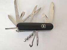 Swiss Army Original Knife, Huntsman, Black, Victorinox 53203, New In Box