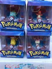 Christmas tree ornaments 2005 Pokémon