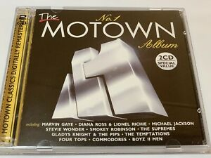 """The No.1 MOTOWN ALBUM - Double CD """"Like New"""""""