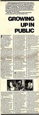 10/1/81PGN18/19 ARTICLE WITH PICTURES: THE EVERYDAY STORY OF STEVE WINWOOD