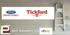 Ford Racing Tickford Workshop Garage Banner, Puma, Capri, Sierra, Escort