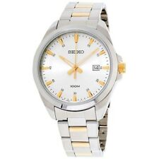 Seiko Classic Mens Analog Watch Casual Multicolored Band SUR211P1