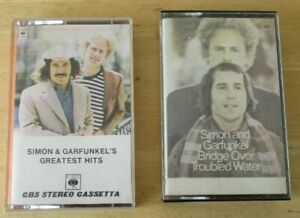 Simon & Garfunkel cassettes- Greatest Hits & Bridge over Troubled Water