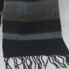 Sale New Vintage Mans Cashmere Wool Warm Striped Scarves Scarf GIFT 36097