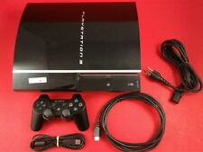 Playstation 3 PS3 3.55 OFW 160GB System [w/ Official Controller & All Cables]