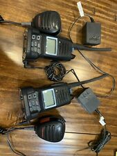 New listing Standard Horizon Marine Handheld Radios, Hx370S, Includes 2 Microphones