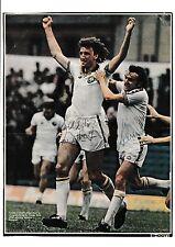 Kevin hird/paul Hart Leeds United Original Firmada A Mano Revista Imagen De Corte