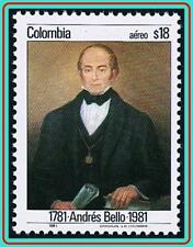 COLOMBIA 1981 ANDREAS BELLO SC#C714 MNH LITERATURE