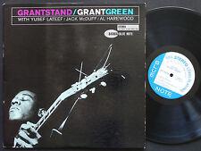 GRANT GREEN Grantstand LP BLUE NOTE 84086 US '61 NY EAR Yusef Lateef Jack McDuff