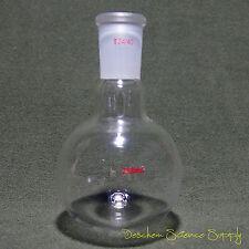 Single Neck,250ml,24/40,Round bottom Glass Flask,1 Neck,Lab Boiling Bottle