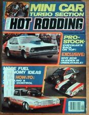 HOT RODDING 1979 SEPT - PRO STOCKERS, TURBO FORD 4's
