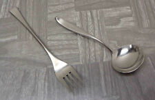 "Vintage Lauffer Norway Soup Spoon & Dalia ""Guernica"" Spain Dinner Fork LOT!"