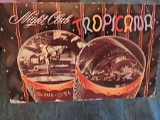 1955 TROPICANA Havana Habana Cuba Post Card
