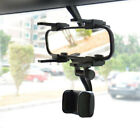 360° Rotation Universal Car Rear View Mirror Mount Stand Phone Holder Cradle
