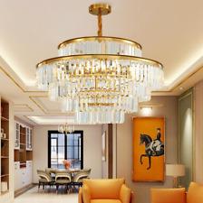 60*40cm Modern Luxury Chandeliers K9 Crystal Pendant Lamps Ceiling Fixture Light