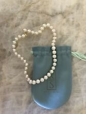 ROSS - SIMONS Single Pearl Strand Necklace