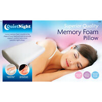 Contour Memory Foam Pillow Neck Back Support Orthopaedic Firm Head My Pillows UK
