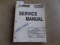 CR 1996 Mariner Mercury 30 & 40/Marathon/SeaPro 2-Cylinder Service Manual