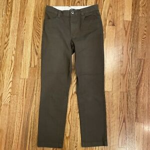 The North Face Boys Cargo Hiking Pants Olive Green Size Large 14/16