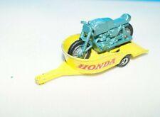 Matchbox No. 38 Honda Motorcycle Trailer + Motorcycle