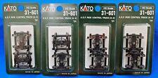 LOT of 4 - HO Scale - KATO 31-601 A.S.F Ride Control Trucks (A-3)