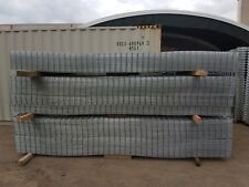 Galvanized welded Weld mesh sheet weldmesh. 1.8m x 4m Sheets, 4mm Wire Dog Fence
