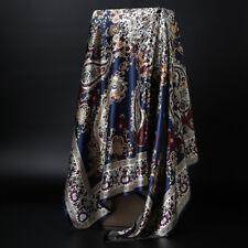 Women's Fashion Boho Style Paisley Print Square Scarf Shawl Hijab Wraps 90x90cm