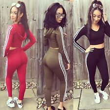 Tracksuit leggings And Top Set 3 Stripe Adidas
