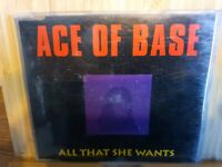 ACE OF BASE - ALL THAT SHE WANTS - UK CD SINGLE