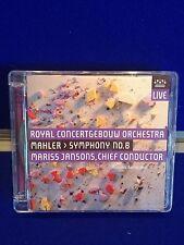 NEW UNSEALED DAMAGED CASE Gustav Mahler - Mahler: Symphony No. 8 2013 CD DVD RCO