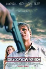 A HISTORY OF VIOLENCE MOVIE POSTER Mint DS 27x40 VIGGO MORTENSEN + LOTR BONUS !!