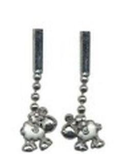 """Sheepworld Ohrringe: Ohrhänger """"Schaf stehend"""", Silber und Emaille, neu"""