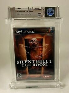 SILENT HILL 4 The Room Konami 2004 Game PS2 Playstation 2 Sealed A+ WATA 9.8