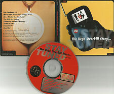Nash kato URGE OVERKILL the Story RARE CAREER SAMPLER 8TRX 1993 PROMO DJ CD