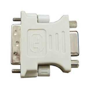 Adattatore DVI-D 24 +1 Pin Maschio a VGA Femmina Adapter Monitor Video Digitale
