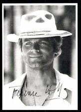 Terence Hill Autogrammkarte Hollywood Superstar