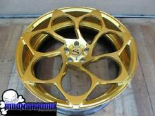 "22"" SAVINI SV69D 18K GOLD POLISHED DODGE CHALLENGER CHARGER SRT-8 WHEELS RIMS"