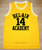 Will Smith #14 The Fresh Prince of  Bel-Air Academy Basketball Jersey S-3XL