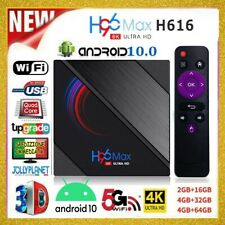 TV BOX H96 Max H616 2/4GB + 16/32/64GB ANDROID 10.0 4K WiFi Quad Core Smart