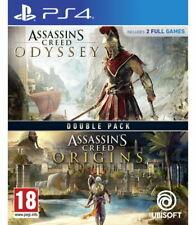Assassins Creed orígenes + odisea Doble Pack (PS4)