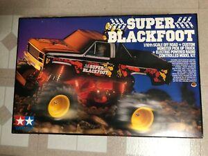 Rare Vintage Super Blackfoot   1/10 scale  Truck