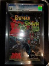 Batman -Spawn: War Devil (DC) CGC 9.6 Wrap Around Cover, Free Shipping!