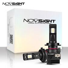 2pcs NOVSIGHT H7 LED Bulbs Hi/Lo Beam 55W 10000LM Headlight 6000K Conversion Kit