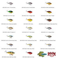 Strike King Crankbait Red Eye Shad REYESD14 Any 20 Colors 1/4oz Lipless Rattle