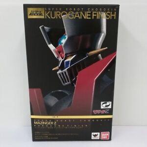 Bandai Super Robot Chogokin Mazinger Z Kurogane finish 135mm Action Figure