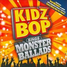 Kidz Bop Sings Monster Ballads by Kidz Bop Kids (CD, May-2011, Razor & Tie)