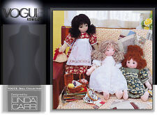 """VOGUE 7418 1930s 18"""" RAG DOLL & CLOTHES Pattern"""