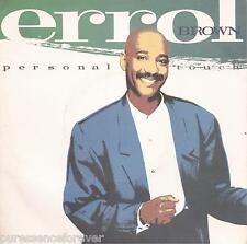 "Errol Brown-toque personal (UK 2 Tk 1987 7"" SINGLE PS)"
